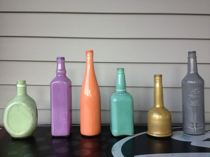 Painted Bottle Crafts
