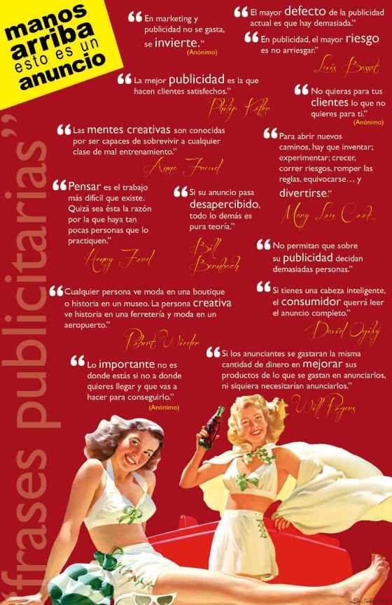 Frases sobre publicidad #infografia: Quotes Publicidad, Best Sentences, Advertising, Advertising Phrases, Nephew Phrases, The Phrases, Phrases, Frases Quotes, Advertising