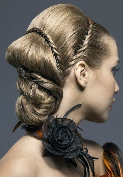 Image detail for -New Unique Bridal HairStyles 2012 – Wedding Fashion and Trends