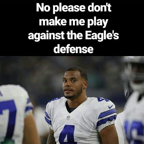 Dak is gonna get murdered by this Eagles defense  #eagles #philadelphiaeagles #carsonwentz #dallascowboys #cowboys #ezekielelliott #nfl #football #newenglandpatriots #patriots #tombrady #atlantafalcons #falcons #pittsburghsteelers #steelers #denverbroncos #broncos #kansascitychiefs #cheifs #larams #rams #minnesotavikings #vikings #antoniobrown #carolinapanthers #panthers #neworleansaints #saints #jaguars #washingtonredskins