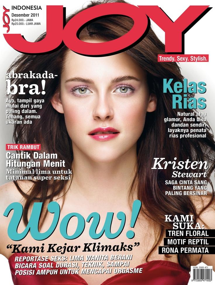 JOY Indonesia December 2011 issue.  #KristenStewart
