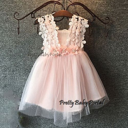 NEW GIRLS Baby Toddler Kid's Spaghetti Strap Floral TUTU Party Wedding Dress  #Unbranded #DressyEverydayHolidayPageantWedding