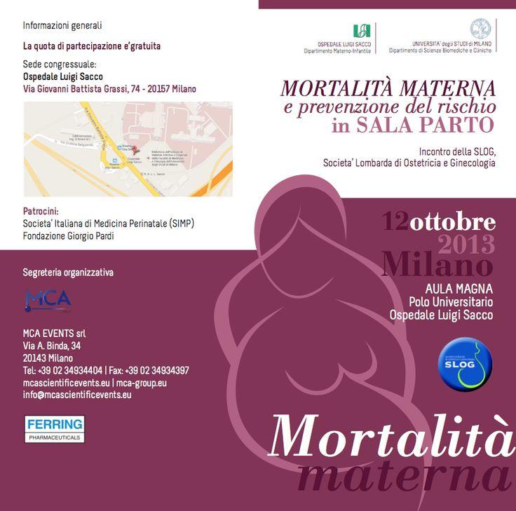 "Depliant ""SLOG EVENT"" in Milan 2013"