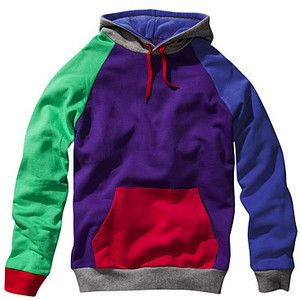 H&M Multi Coloured Hoodie