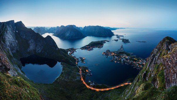 Норвегия Лофотенские острова  / X-Style