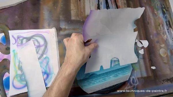 10-peinture-aerographe-cache volant-techniques-de-peintre