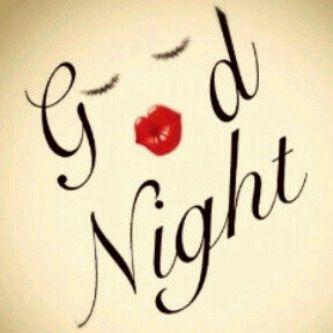 go, good, kiss, lips, love, nigh, sleep, to
