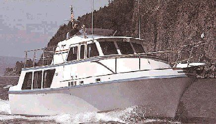 Tollycraft 37' Long Range Cruiser