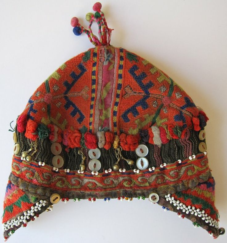A child's hat from Indus Kohistan