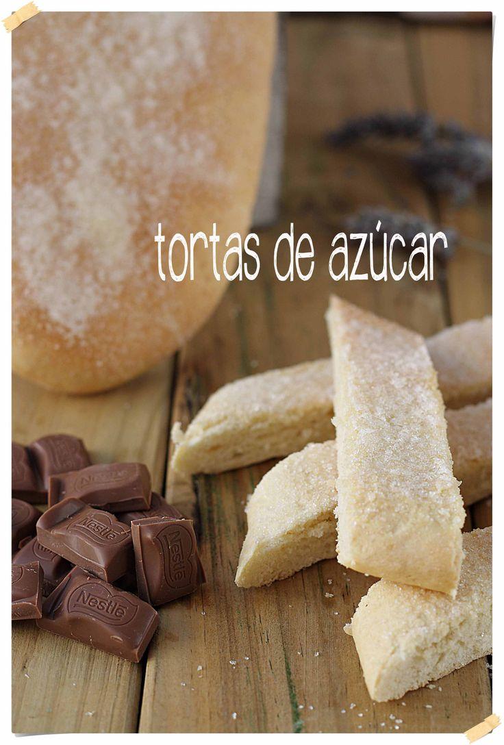 Tortas de azúcar {by Paula, Con las Zarpas en la Masa}