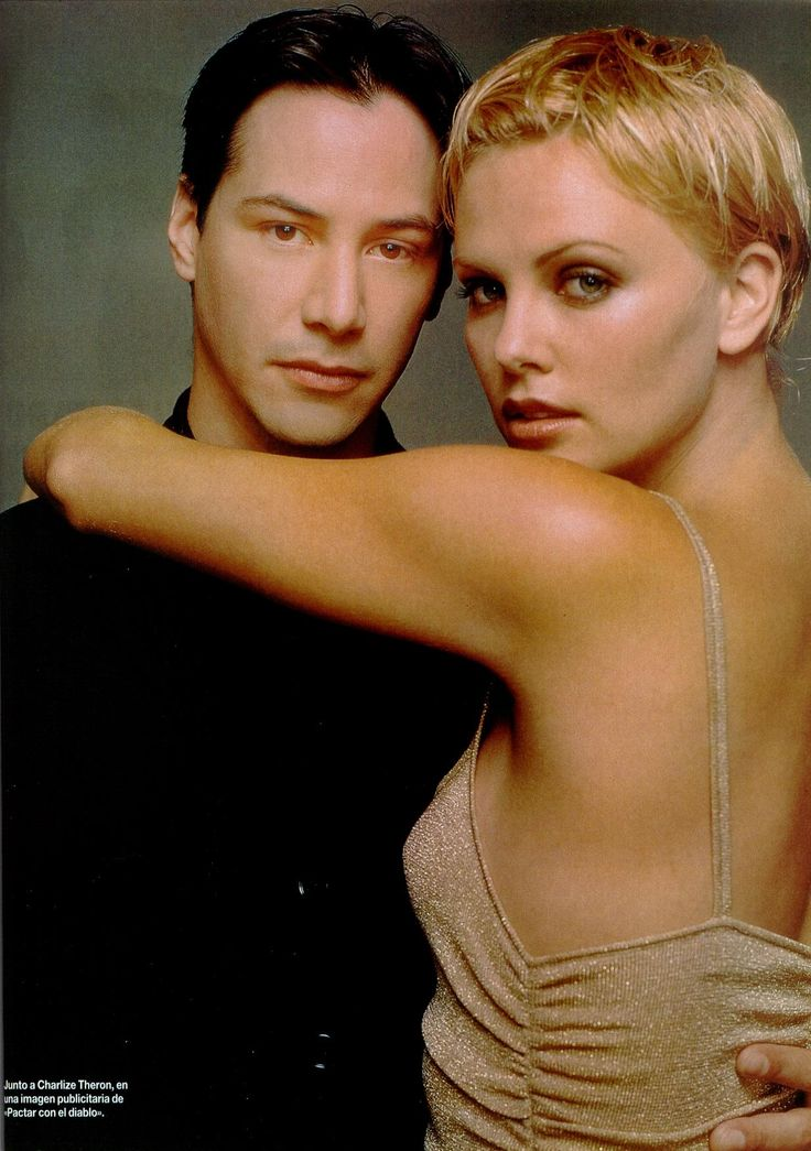 Keanu Reeves & Charlize Theron The Devil's Advocate by Robert Erdmann, Fashion Photographer