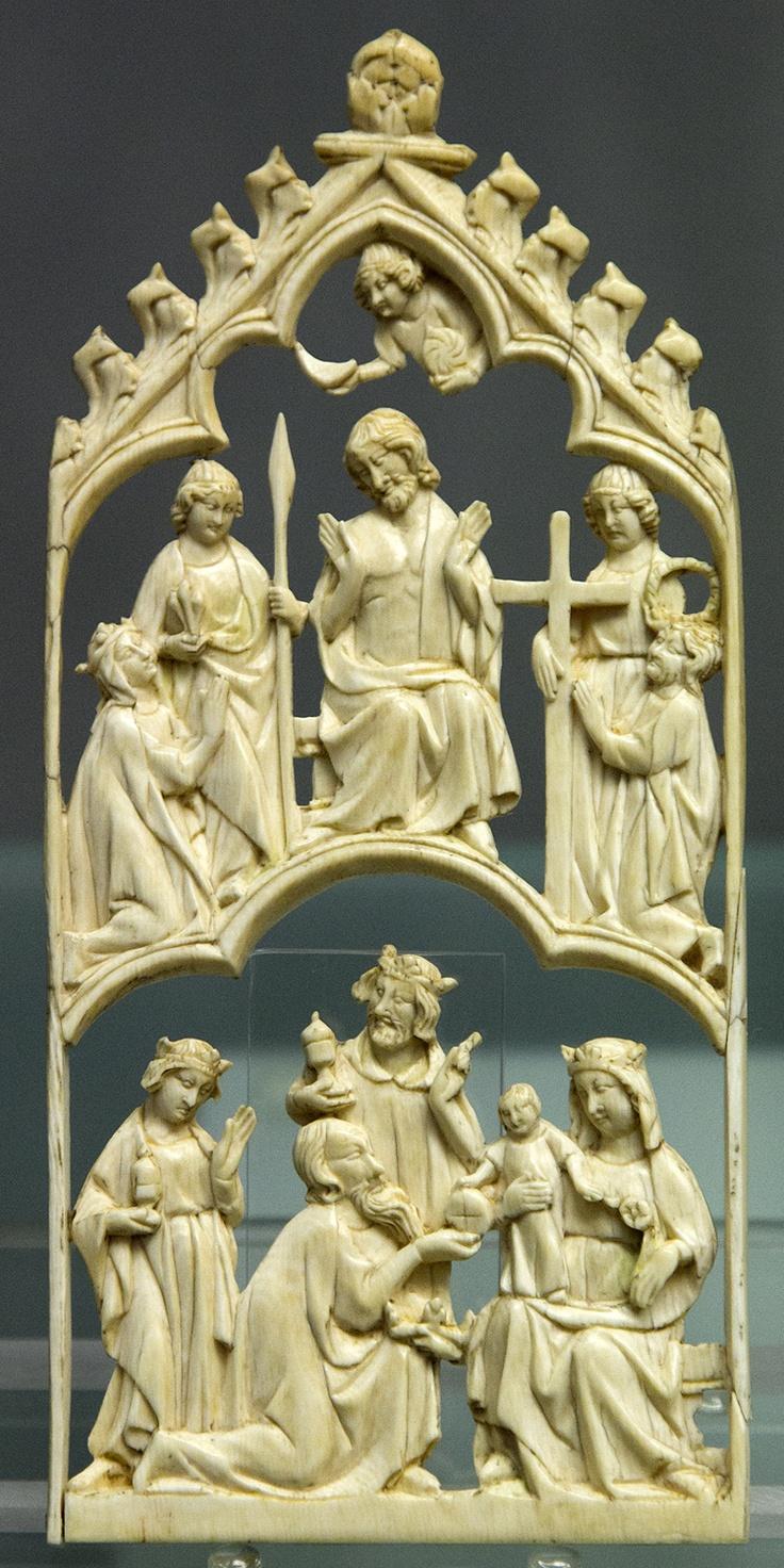 marfil religioso,Museo del Cincuentenario de Bruselas
