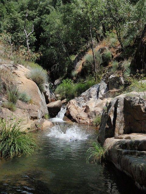 La Garganta de La Desesperá, por encima de Arroyomolinos de la Vera, en la Sierra de Tormantos, un lugar precioso.