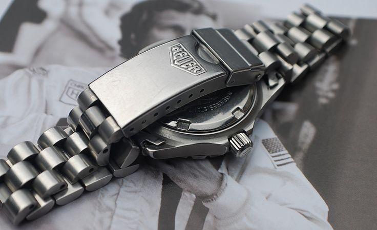 Tag Heuer 2000 Professional 972.015 Quartz Ladies/Unisex Vintage Bracelet…