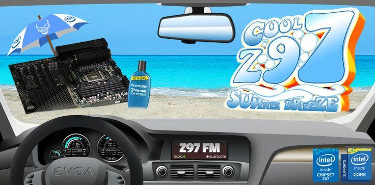EVGA Cool Z97 Summer Breeze Promotion!
