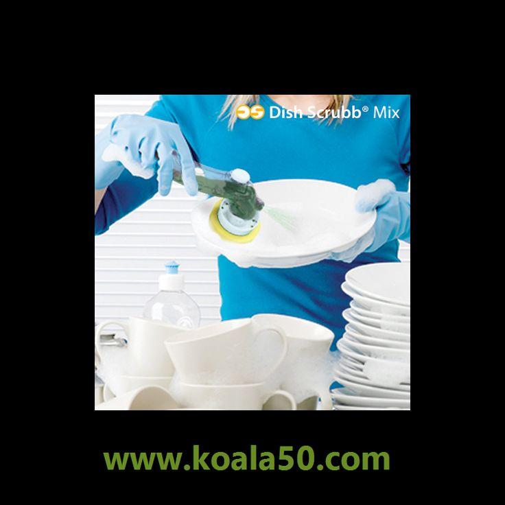Kit de Limpieza Dish Scrubb Mix (5 piezas) - 4,74 €   ¿Conoces ya elkit de limpieza Dish Scrubb Mix? Es un producto estupendo. Consiste en undispensador de jabónergonómico al que se pueden sujetar cuatro cabezales de limpieza intercambiables...  http://www.koala50.com/ideas-para-el-hogar/kit-de-limpieza-dish-scrubb-mix-5-piezas