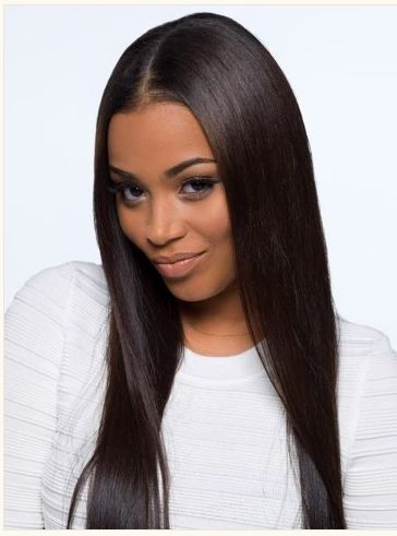 Beautiful Straight Hair Style.