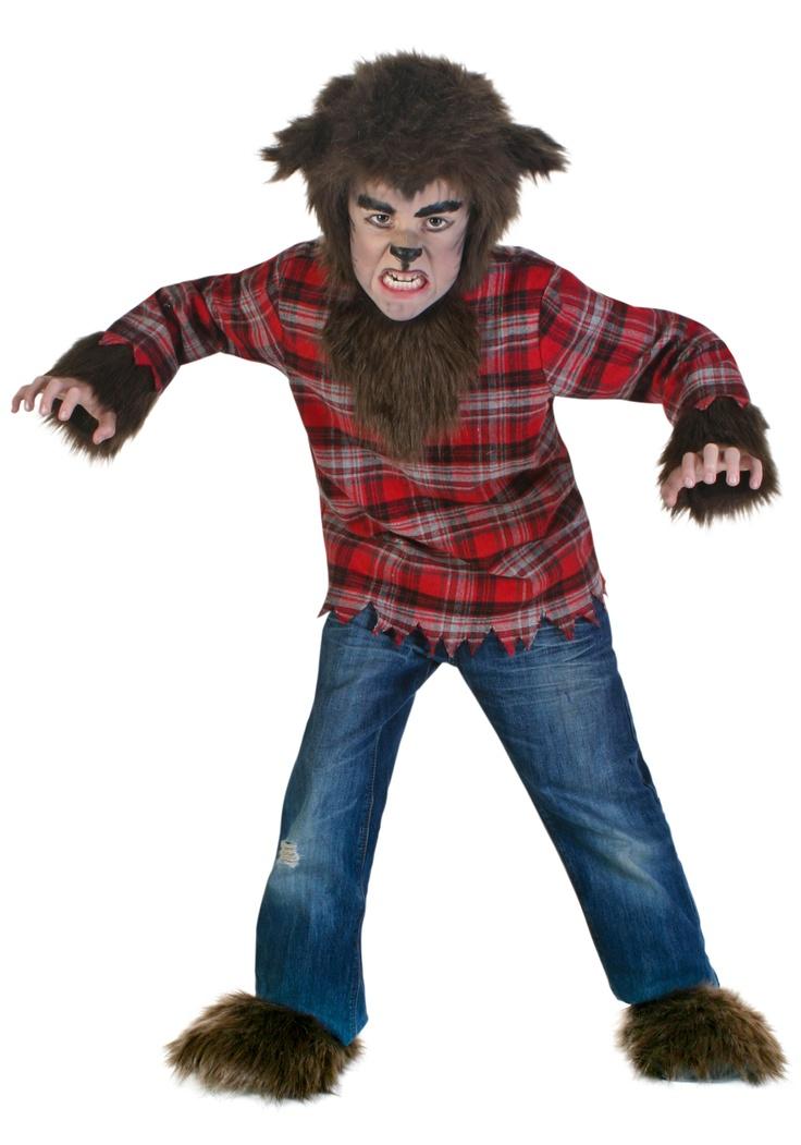Kids Fierce Werewolf Costume