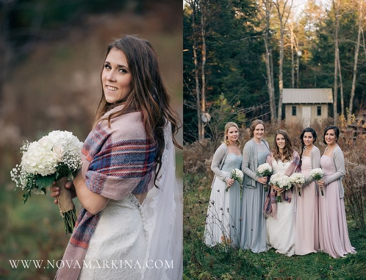Cozy Woodsy Wedding || Outdoor Fall Wedding Photography || NovaMarkina Photography || See more of this Le Belvedere Wedding here: http://www.novamarkina.com/blog/le-belvedere-wedding-photography-kristin-ryan