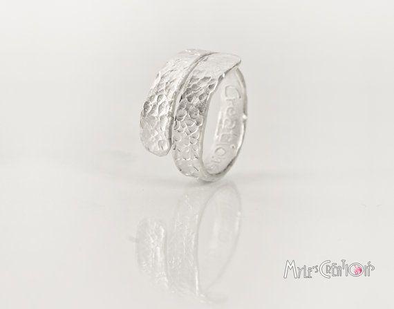 Anello in Alluminio Regolabile AW006 di MylesCreations su Etsy, €11.00