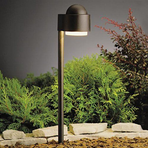 Kichler Lighting 15360AZT Simplicity Side Mount 1-Light 12-Volt Path & Spread Light, Textured Architectural Bronze by Kichler. $94.08. From the Manufacturer                The Kichler Lighting 15360AZT Simplicity Side Mount Low Voltage Landscape Path and Spread Light is designed to be noticed. This simple, uncomplicated design makes for the perfect illumination along paths without troublesome glare. Made of high quality aluminum, this functional light is finished in Textured...