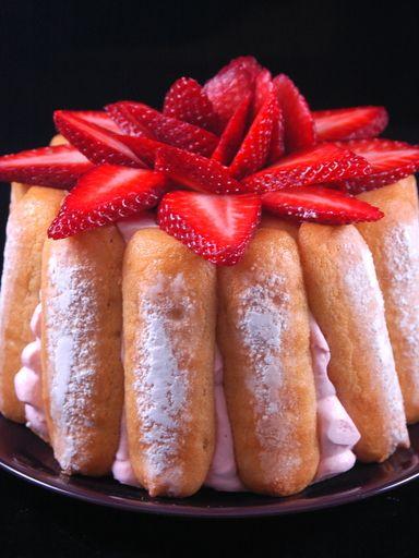 """""""The"""" charlotte aux fraises"""