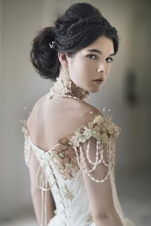 Perfect bridal up-style! Photo by Emily Soto, hair by Hair Passion Art Salon. See more: http://goo.gl/797YTS