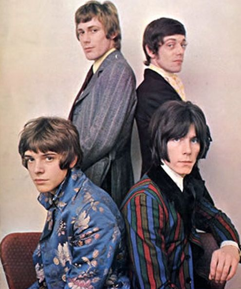 The Herd, early 1968. Great Regency jackets worn by Peter Frampton (bottom left)… Snogged them all & was even left in a room with Peter - nice one!!!