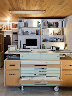 ALEX work table with flat files - IKEA Hackers