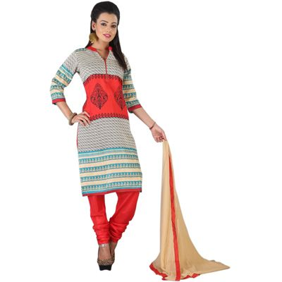 Buy TheEmpire Red Art Silk Dress Material by The Empire, on Paytm, Price: Rs.399?utm_medium=pintrest