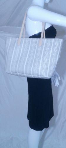 Coach Legacy Weekend Ticking Stripe Medium Tote Bag 23108 - AS IS