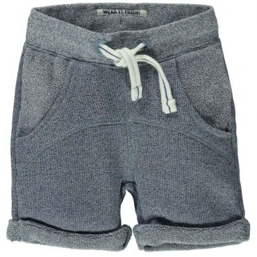 Jeansblauwe short in joggingstof - Maat 62-86 - SS16 - Boys - Tumble 'N Dry - Mister Monkey and Misses Butterfly