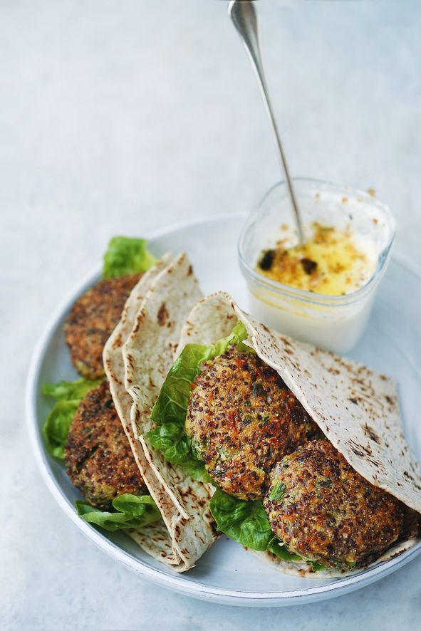 quinoa patties, köfte, goodfood