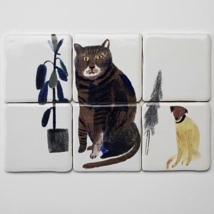Where the Wild Things Are: Tiles from Laura Carlin