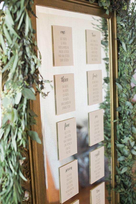 Wedding Escort Board Ideas : Escort cards wedding party ideas layer cake on
