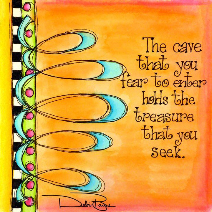 """The Cave"" by Debi Payne of Debi Payne Designs"