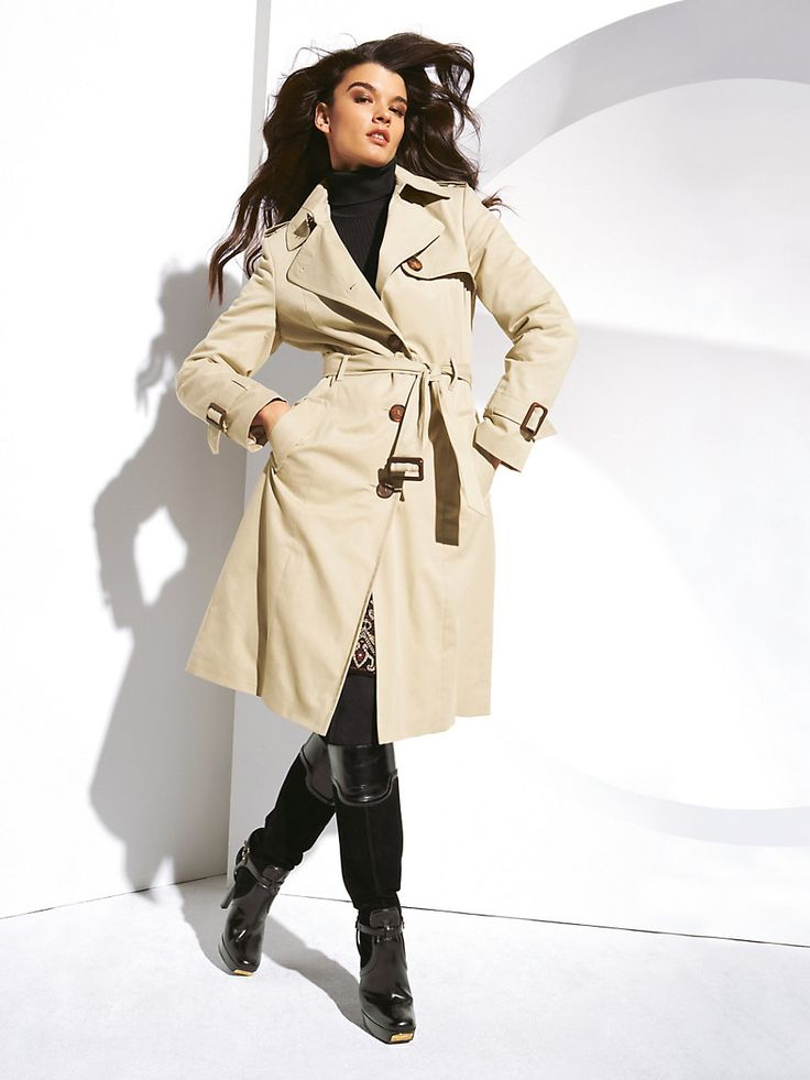 Perfect Womens Trench Coat : Women Trench Coat Makeover