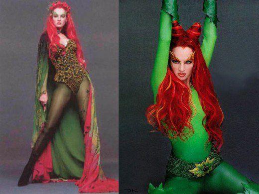 Uma Thurman as Poison Ivy in Batman and Robin Movie