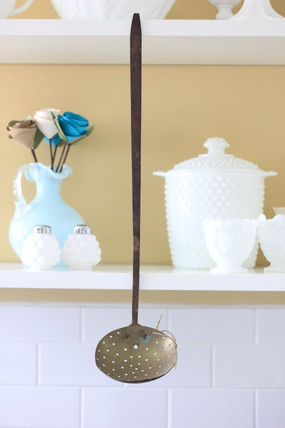 Long Rustic Ladle Spoon | The Salvaged Boutique