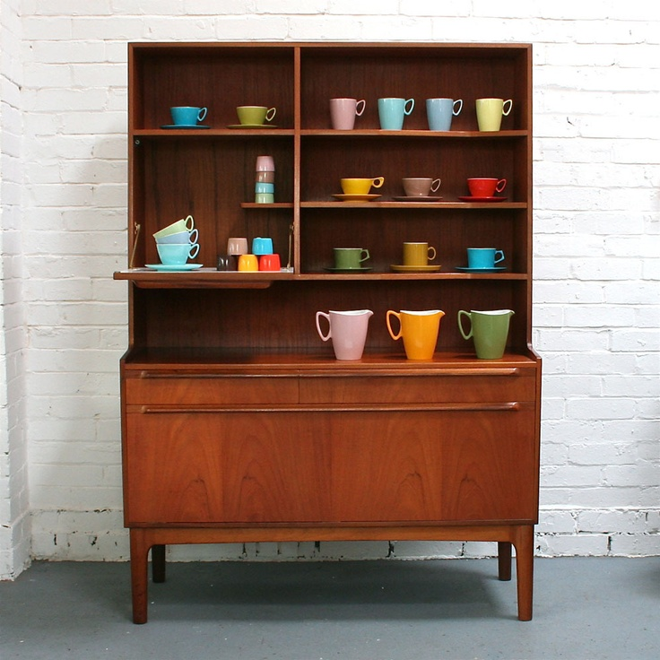 Vintage Teak Mcintosh Display Unit