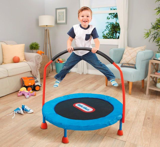 Little Tikes 3 feet Easy Store Indoor Trampoline