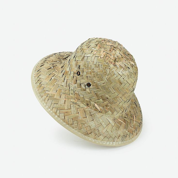 Adult's Safari Helmets - OrientalTrading.com-have campers paint and decorate for craft?