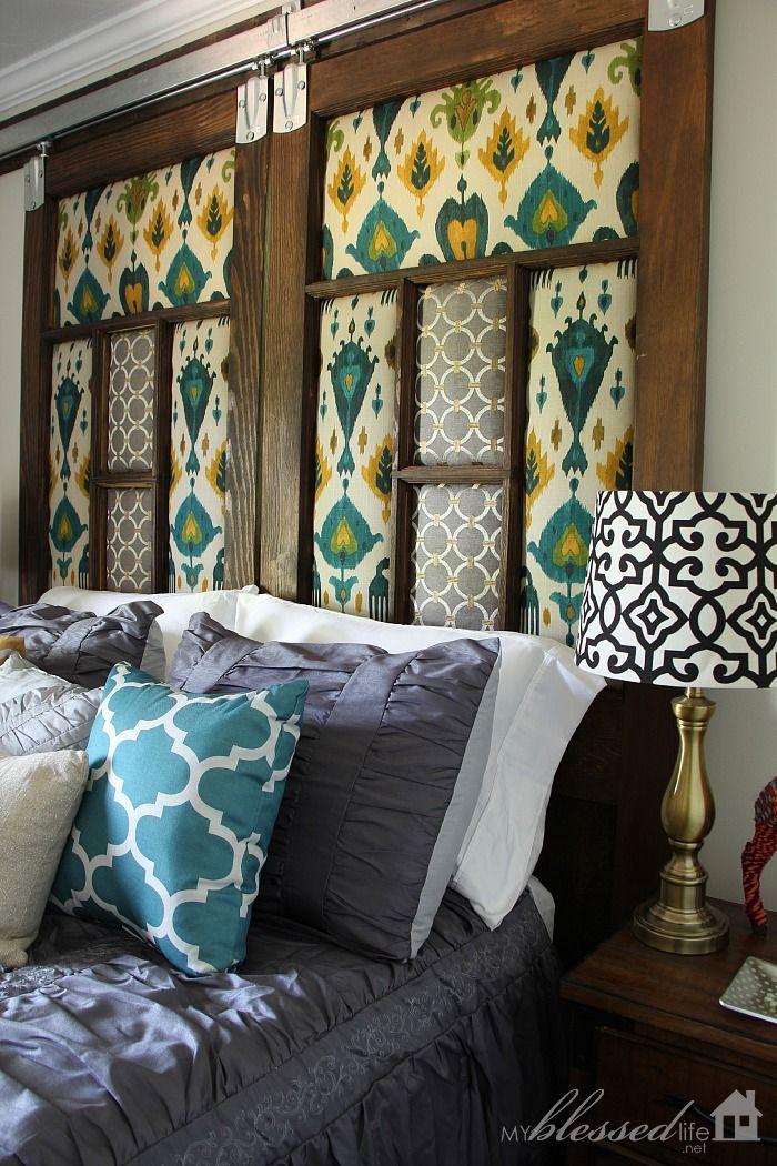 how to build a barn door headboard getting crafty diy pinterest cas. Black Bedroom Furniture Sets. Home Design Ideas
