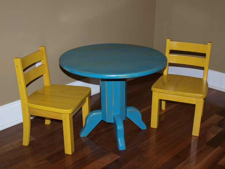 Kids Table And Chairs Kids Furnitre Pinterest
