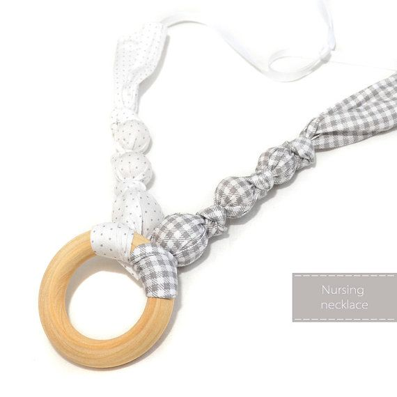 Nursing Necklace  Teething Necklace  by NyUrbanAccessories on Etsy, $19.00