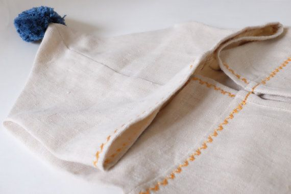 Hemp Linen Bath Robe For Kids FREE SHIPPING Kids by RokkaDesign