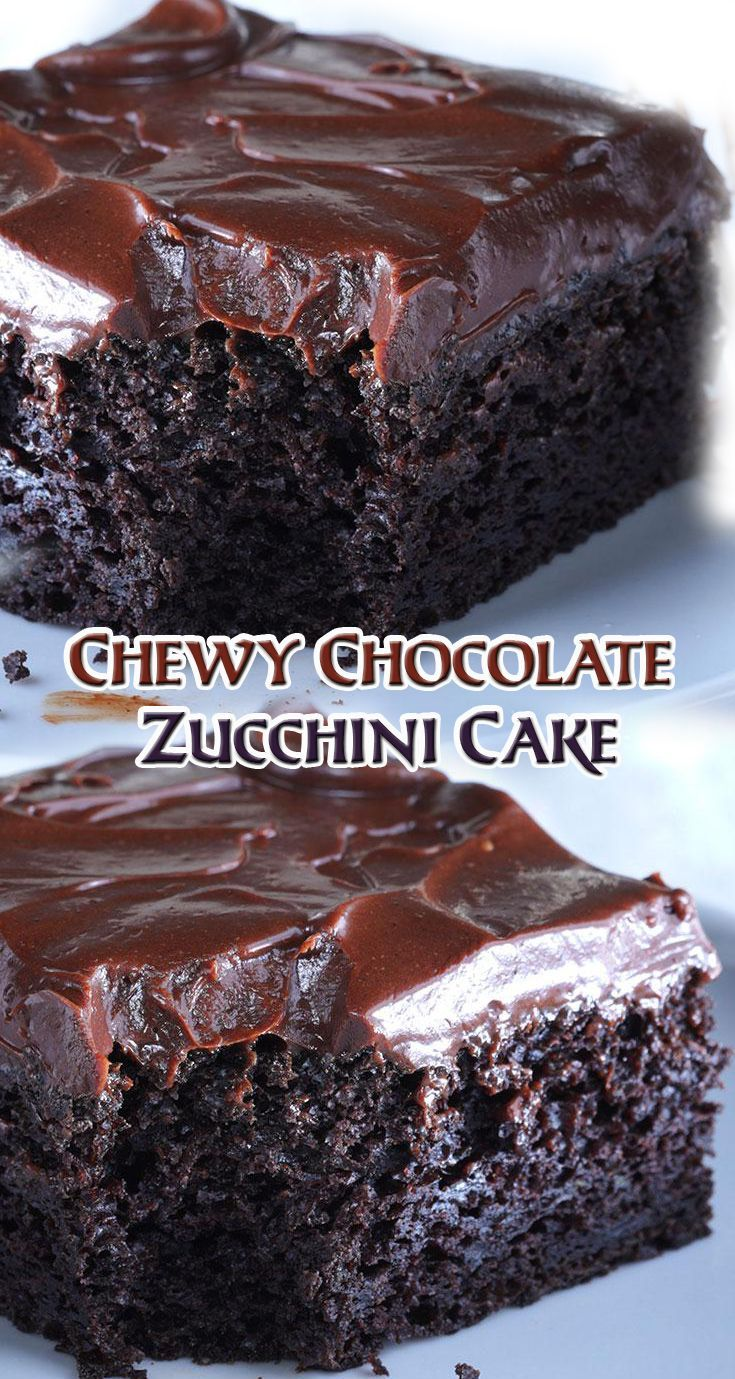 For the Cake Preheat the oven to 325°F. Lightly grease a 9 x 13-inch pan. In a large mixing bowl, cream together the butter, oil, sugar, vanilla, baking soda, baking powder, and salt. Add in the eggs. Stir in the sour cream alternately with the flour. Then add the cocoa powder and mix until incorporated and the batter is smooth. Fold in the zucchini and 2/3 cup chocolate chips. Add the batter into the prepared pan and bake the cake for 30 to 35 minutes, till the top springs back lightly…