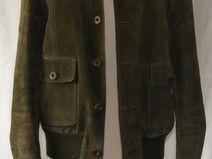 Echte vintage Lederjacke