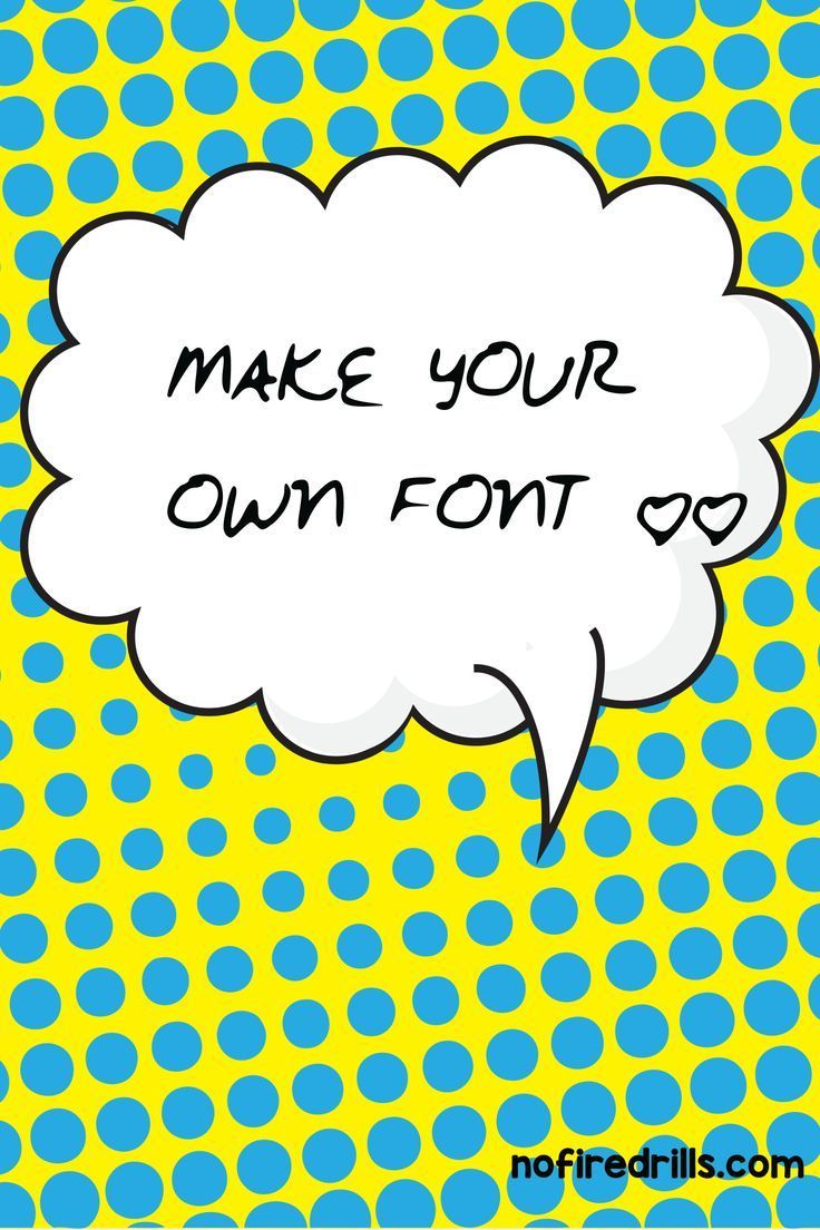 Make your own handwriting font for free? YES! It is so easy with myscriptfont.com. In less than 15 minutes you can have a personal font. Print out the standard template and fill it in with …
