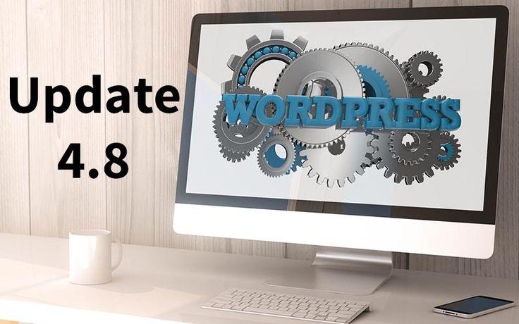 Mit der Veröffentlichung von WordPress 4.8 wurden vier neuen Widget (Bild, Text, Video, Audio) und eine verbesserte Link Bearbeitung eingeführt
